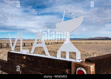 Very Large Array (VLA) in New Mexico - Stock Photo