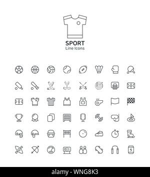 Modern thin line flat design icons set for website and app design 025 - Stock Photo