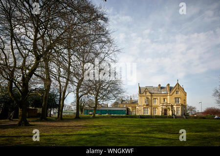 Tameside Ryecroft Hall Manchester Rd, Audenshaw, beautiful Grade II listed civic building donated to the people of Audenshaw by Austin Hopkinson in 19 - Stock Photo