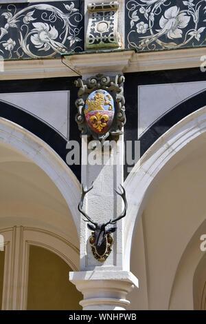 Dresden Castle or Royal Palace, Dresdner Residenzschloss or Dresdner Schloss, Dresden, Germany, Europe - Stock Photo