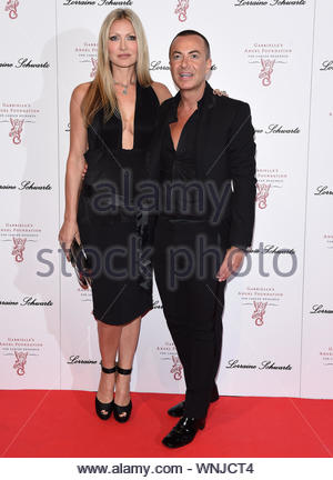 London, UK - Caprice and guest at the 3rd Annual Gabrielle's Gala Fundraiser for Gabrielle's Angel Foundation for Cancer Research, held at Billingsgate in London. AKM-GSI May 7, 2014 - Stock Photo