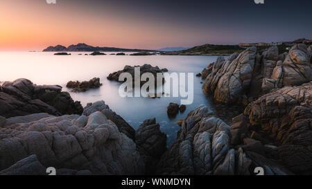 Sardinia Sunset - Stock Photo