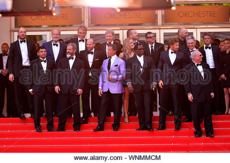 Cannes, France - The cast of 'Expendables 3' at the 'The Homesman' premiere during the 67th Annual Cannes Film Festival. AKM-GSI May 18, 2014 - Stock Photo