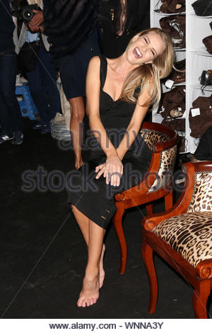 Cannes, France - Rosie Huntington-Whiteley attends Roberto Cavalli's yacht party in Cannes. AKM-GSI May 21, 2014 - Stock Photo