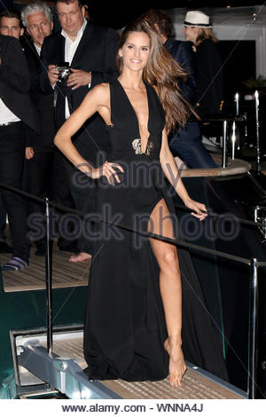 Cannes, France - Izabel Goulart attends Roberto Cavalli's yacht party in Cannes. AKM-GSI May 21, 2014 - Stock Photo