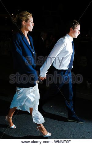 Cannes, France - Heidi Klum and Vito Schnabel at the 'Roberto Cavalli Annual Party Aboard' as part of the 67th Cannes Film Festival in Cannes, France AKM-GSI May 21, 2014 - Stock Photo