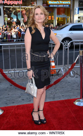 Hollywood, CA - Lea Thompson attends the premiere of HBO's 'True Blood' Season 7 held at TCL Chinese Theatre in Hollywood. AKM-GSI June 17, 2014 - Stock Photo