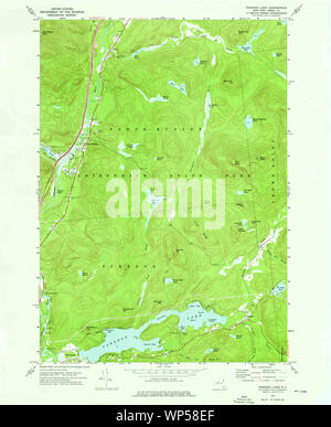 New York NY Paradox Lake 135965 1973 24000 Restoration - Stock Photo