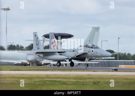 McDonnell Douglas F-15I of the Israeli Air Force - Stock Photo