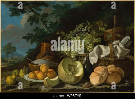 The Afternoon Meal (La Merienda),ca. 1772.jpg - WP5TYR - Stock Photo