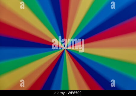 colorful color palette pattern rotating as background - Stock Photo