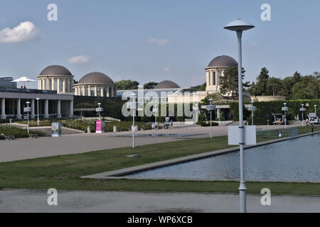 Four Domes Pavilion in Wroclaw - Stock Photo