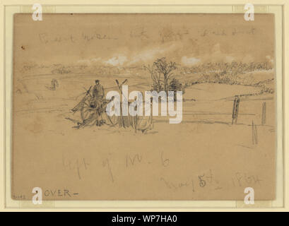 Left of No. 6, May 5th, 1864 - Stock Photo