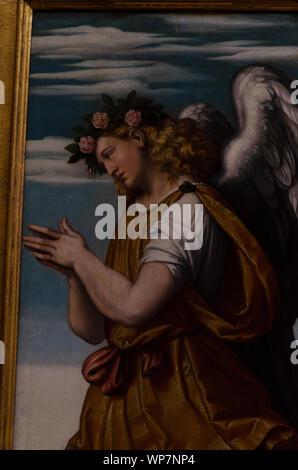 Moretto da Brescia - An Adoring Angel - Stock Photo