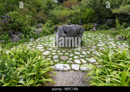 Makino Botanical Garden was created to honor the achivement of Dr Tomitaro Makino the father of plant taxonomy in Japan.  In addition to its vast gard - Stock Photo