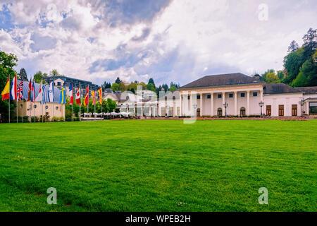 Kurhaus resort and casino house at Baden Baden in Germany - Stock Photo