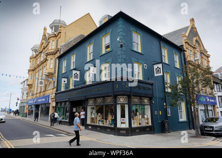 Pictured: Ceredigion Museum, Terrace Road in Aberystwyth, Wales, UK. Wednesday 28 August 2019 - Stock Photo