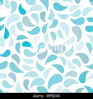 Geometric Shapes In Vector Seamless Pattern - Stock Photo