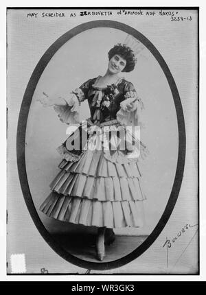 May Scheider as Zerbinetta in Ariadne auf Naxos - Stock Photo