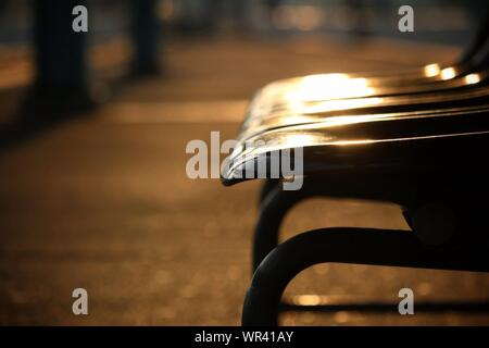 Empty Chairs In Waiting Area - Stock Photo