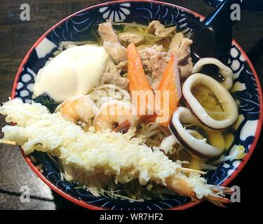 Close-up Of Japanese Food In Bowl - Stock Photo