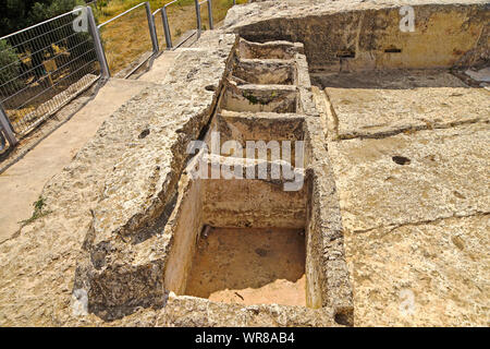 Nebi Samwil or Tomb of Samuel in the outskirts of Jerusalem Israel - Stock Photo