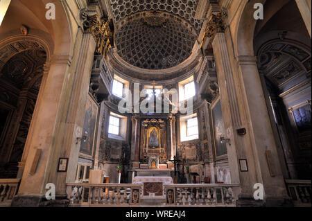 italy, rome, church of santa maria della consolazione - Stock Photo