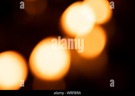 Light abstract bokeh background by blur or defocused at light element use for background or wallpaper in new year diwali christmas marriage celebratio - Stock Photo