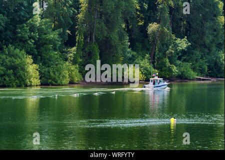Newberg, Oregon,USA - May,28,2016:  This is an annual free event held on Memorial Day weekend since 1949. - Stock Photo