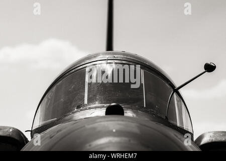 Fighter Plane Against Sky - Stock Photo