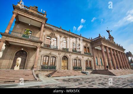 Monterrey, Macroplaza, Government Palace (Palacio del Gobierno) - Stock Photo