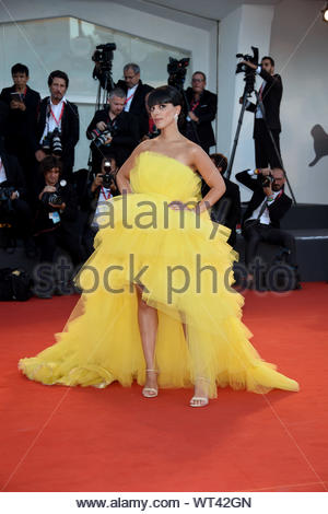 Giulia Comolli Venezia, 07/09/2019 76th Venice film Festival - Stock Photo