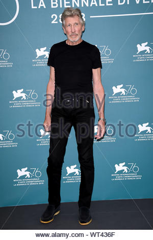 Roger Waters Venezia, 07/09/2019 76th Venice film Festival - Stock Photo