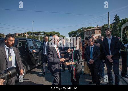 American Ambassador Lewis M. Eisenberg (CLAUDIO SISTO/Fotogramma, ROME - 2019-09-11) p.s. la foto e' utilizzabile nel rispetto del contesto in cui e' stata scattata, e senza intento diffamatorio del decoro delle persone rappresentate - Stock Photo
