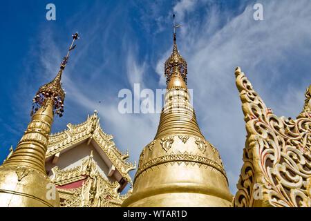 Dhammikarama Burmese Buddhist temple in Georgetown - Stock Photo