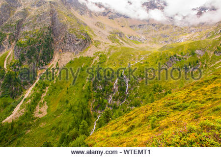 streams on the Alps of South Tyrol sixteen - Stock Photo