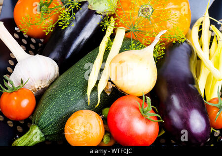 Homemade bio vegetables for baking. Studio Photo - Stock Photo