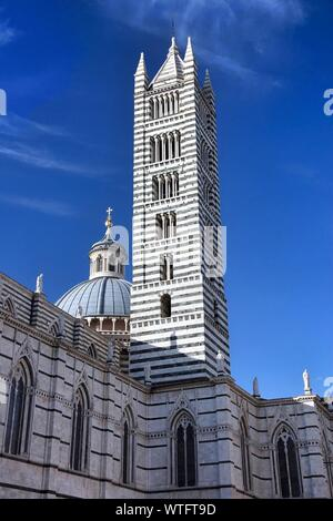 Low Angle View Of Siena Cathedral
