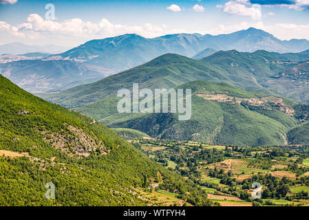 Landscape view on National park Lure in Albania, Europe