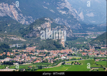 Arco - The Town with the medieval castle.