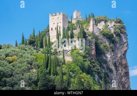 Arco - The medieval castle.