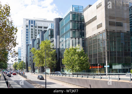 Regent's Place, Euston Road, Fitzrovia, London Borough of Camden, Greater London, England, United Kingdom - Stock Photo