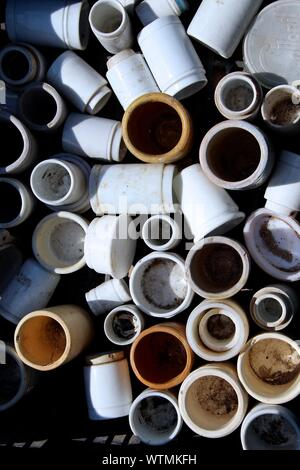 Close-up Of Round Pipes - Stock Photo