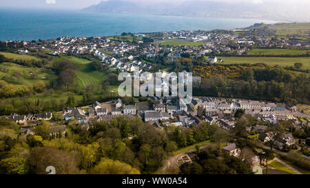 Cushendall, formerly known as Newtown Glens, is a village and townland in County Antrim, Northern Ireland.