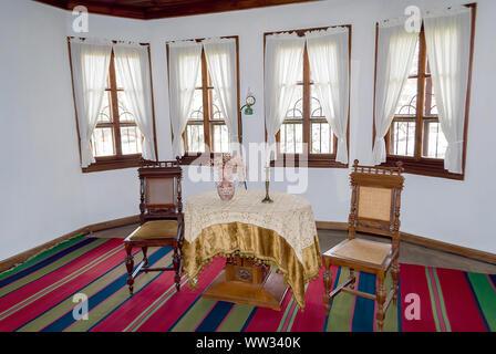 19th century urban interiors;Tryavna Bulgaria; - Stock Photo