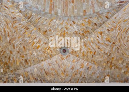 Architectural detail of the interior of the Wewelsburg castle - Stock Photo