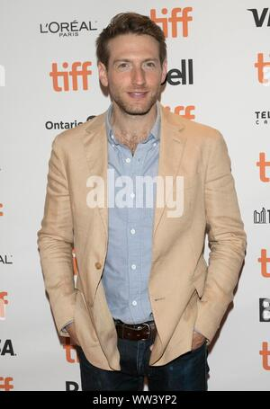 Toronto, Ontario, Canada. 12th Sep, 2019. Fran Kranz attends the premiere of 'Jungleland' during the 44th Toronto International Film Festival, tiff, at Princess of Wales Theatre in Toronto, Canada, on 12 September 2019.   usage worldwide Credit: dpa picture alliance/Alamy Live News - Stock Photo