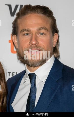 Toronto, Ontario, Canada. 12th Sep, 2019. Charlie Hunnam attends the premiere of 'Jungleland' during the 44th Toronto International Film Festival, tiff, at Princess of Wales Theatre in Toronto, Canada, on 12 September 2019.   usage worldwide Credit: dpa picture alliance/Alamy Live News - Stock Photo