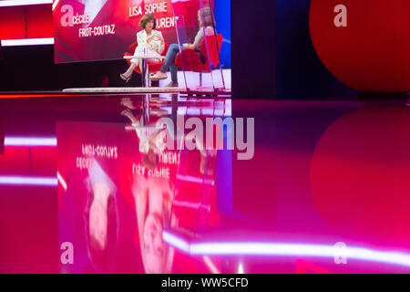 Cologne, Germany, 12.09.2019, DMEXCO digital marketing expo and conference: Lisa Sophie Laurent and Cecile Frot-Coutaz. - Stock Photo