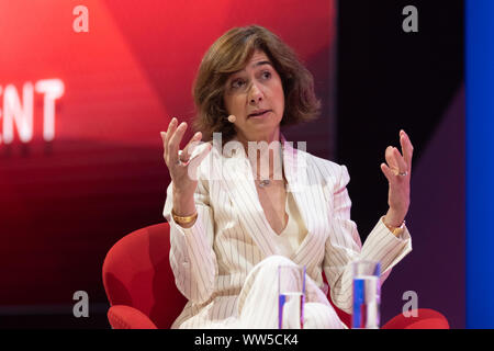 Cologne, Germany, 12.09.2019, DMEXCO digital marketing expo and conference: Cecile Frot-Coutaz, Head of EMEA You Tube. - Stock Photo